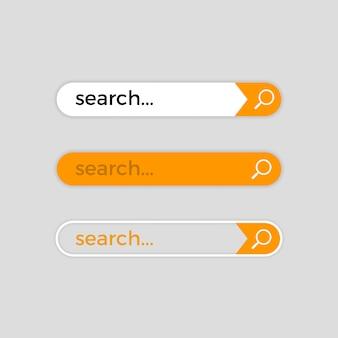 Barre de recherche web