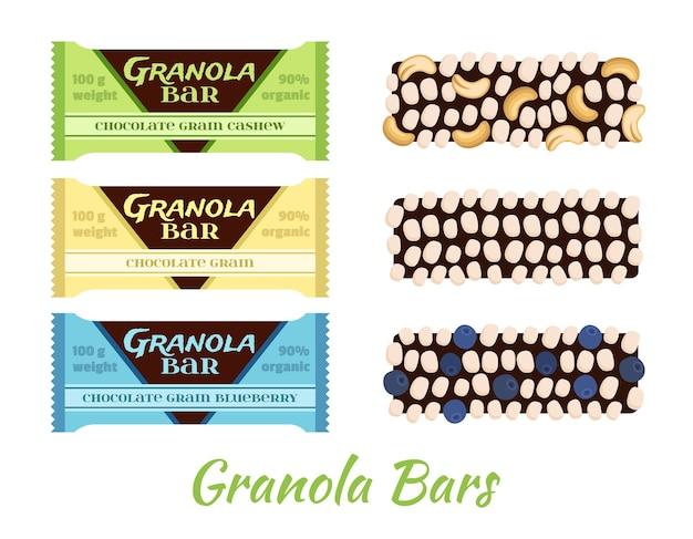 Barres granola