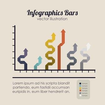 Barres d'infographie