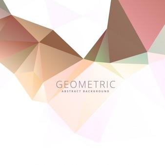 Bas fond abstrait polygonale