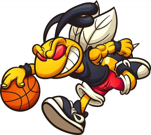 Basket-ball hornet