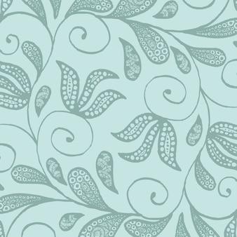 Batik flore ornement fond