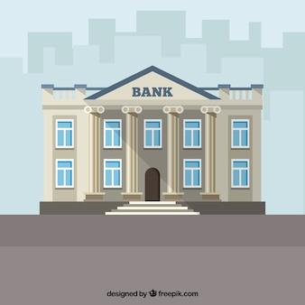 Bâtiment de la banque antique