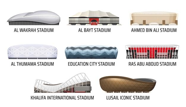 Bâtiment du stade et de l'arène sportive
