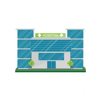 Bâtiment de l'hôpital.