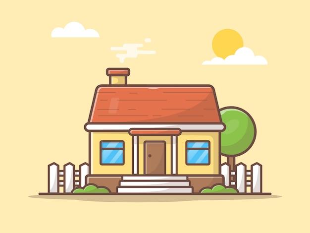 Bâtiment de maison