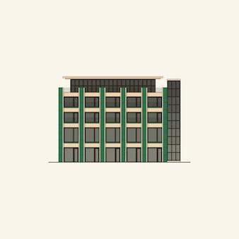 Un bâtiment public