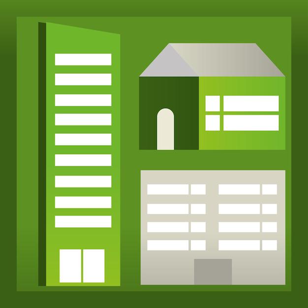Bâtiments écologiques verts