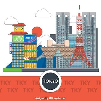 Bâtiments tokyo