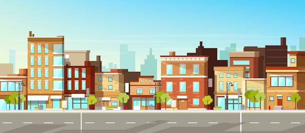 Bâtiments de la ville moderne