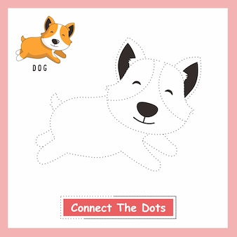 Beagle dog connect the dots
