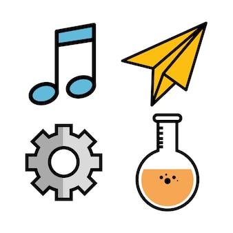Beam notes engrenage planétaire roue et flasque
