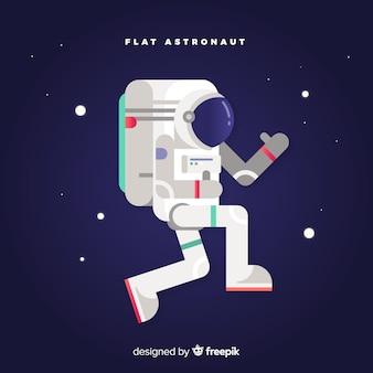 Beau design d'astronaute