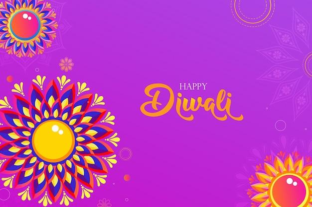 Beau design de fond pour le festival hindou diwali