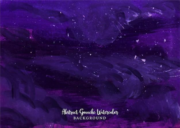 Un beau fond d'aquarelle de gouache abstraite de nuit noire