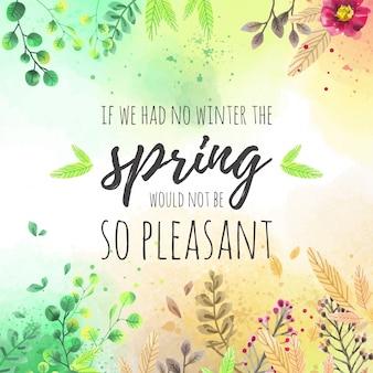 Beau fond de printemps
