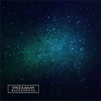 Beau fond du ciel nocturne avec fond de galaxies sombres étoiles