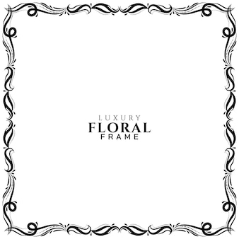 Beau fond élégant de cadre floral