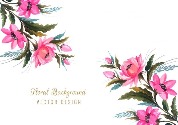 Beau fond floral de mariage de bouquet