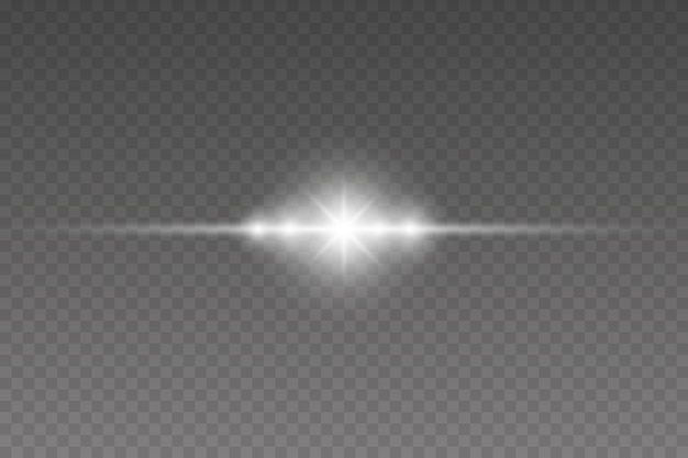 Beau fond de lumière flare