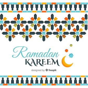Beau fond de ramadan