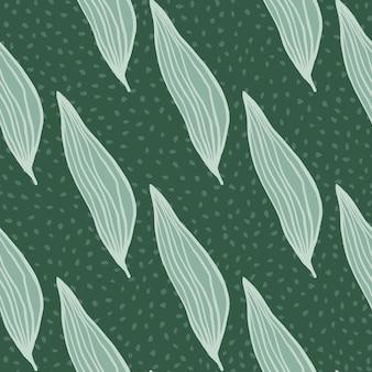 Beau motif de feuilles de ligne. toile de fond botanique abstraite. fond d'écran nature créative. conception pour tissu, impression textile, emballage, couverture. illustration vectorielle.
