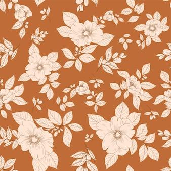 Beau motif floral ditsy