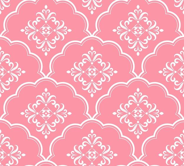 Beau motif rose