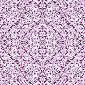 Beau motif violet