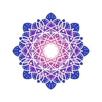 Beau vecteur de mandala ramadhan