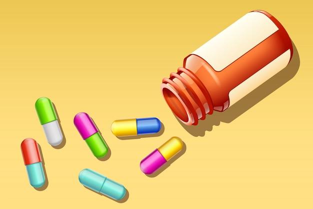 Beaucoup de pilules