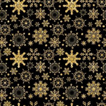 Beauté abstraite noël et nouvel an seamless pattern background vector illustration