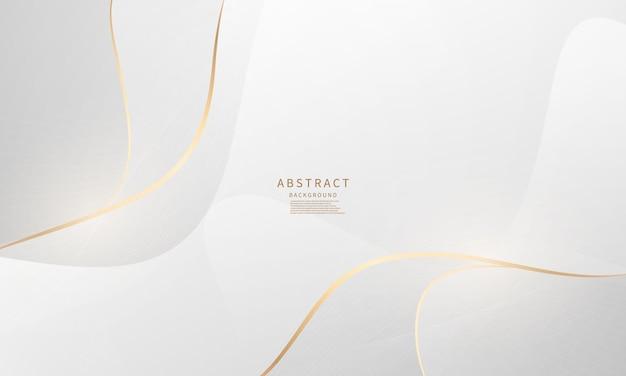Beauté d'affiche de fond abstrait avec dynamique de luxe vip.