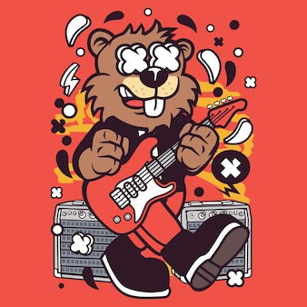 Beaver rocker