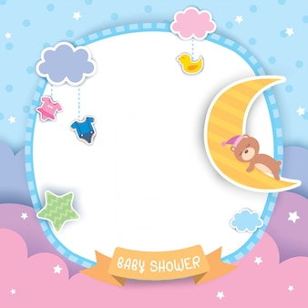 Bébé-douche-pastel