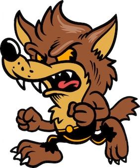 Bébé loup garou