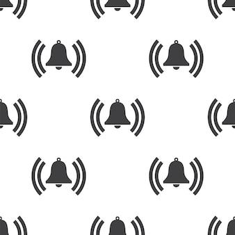 Bell, modèle sans couture de vecteur, modifiable peut être utilisé pour les arrière-plans de pages web, les remplissages de motifs