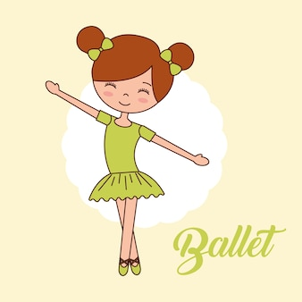 Belle ballerine