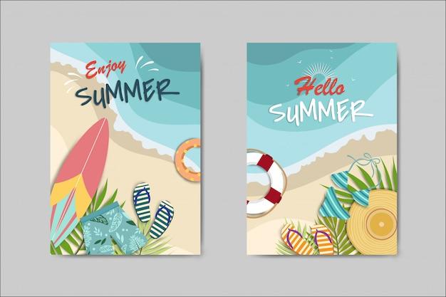 Belle carte d'été