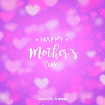 Belle carte de voeux bonne fête des mères