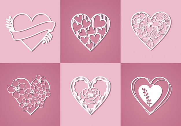 Belle collection d'amour monogram