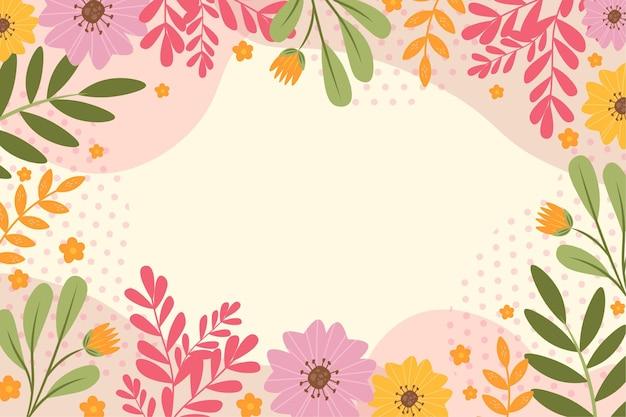 Belle collection de fleurs de printemps