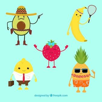 Belle collection de fruits