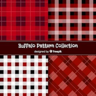 Belle collection de motifs de buffle