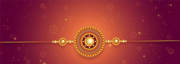 Belle conception de rakhi pour le festival de raksha bandhan