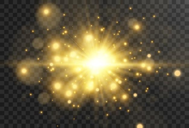 Belle étoile brillante.