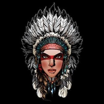 Belle fille indienne