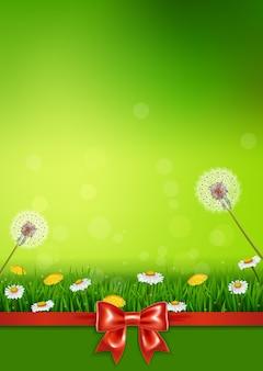 Belle herbe verte
