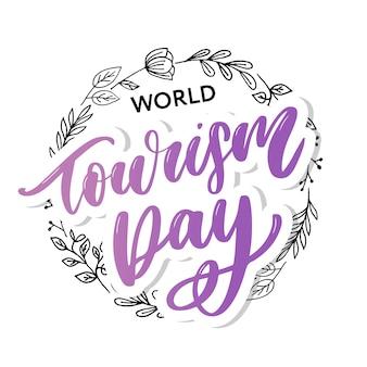 Belle inscription pour la journée du tourisme.