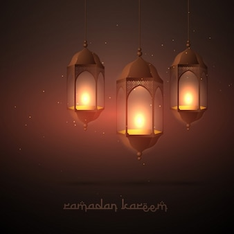 Belle lampes pendaison ramadan
